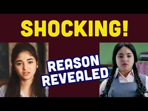 Zaira Wasim QUITS Bollywood, SHOCKING Reason REVELED| Celebs Reaction| Aamir Khan| Dangal Mp3