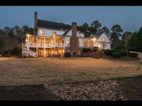 MILLION DOLLAR LUXURY EQUESTRIAN ESTATES MILTON - ATLANTA GA -14830 East Bluff Road