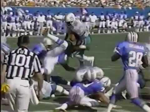 1991 Wk 08 Miami vs Houston Highlights ESPN; The