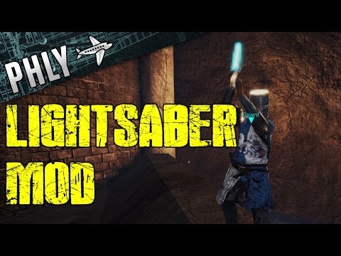 Chivalry Medieval Warfare - Lightsabers Mod Gameplay |