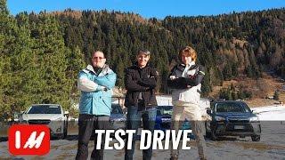 Subaru Forester, Outback e XV: La nostra prova sulla neve