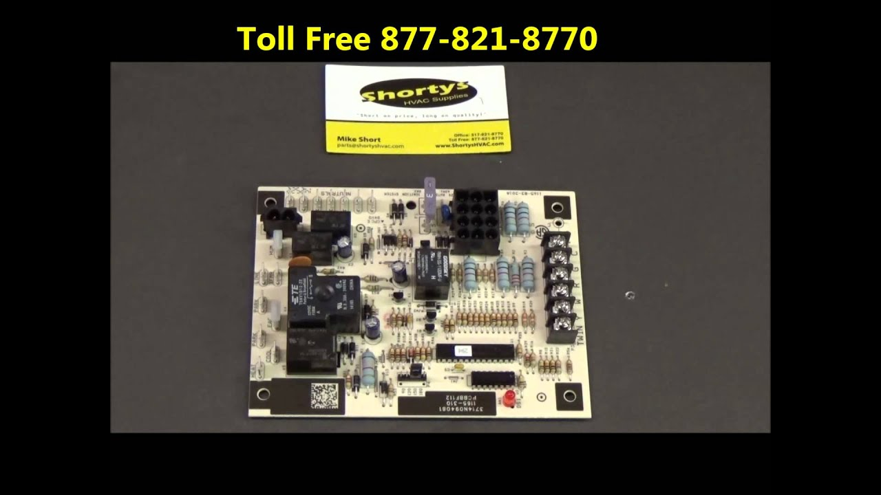 small resolution of goodman and janitrol circuit board