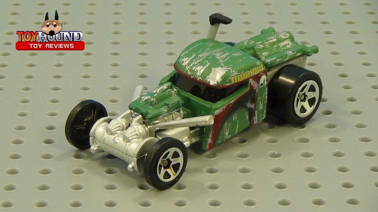 Hot Wheels Star Wars Boba Fett car, diecast review by ...