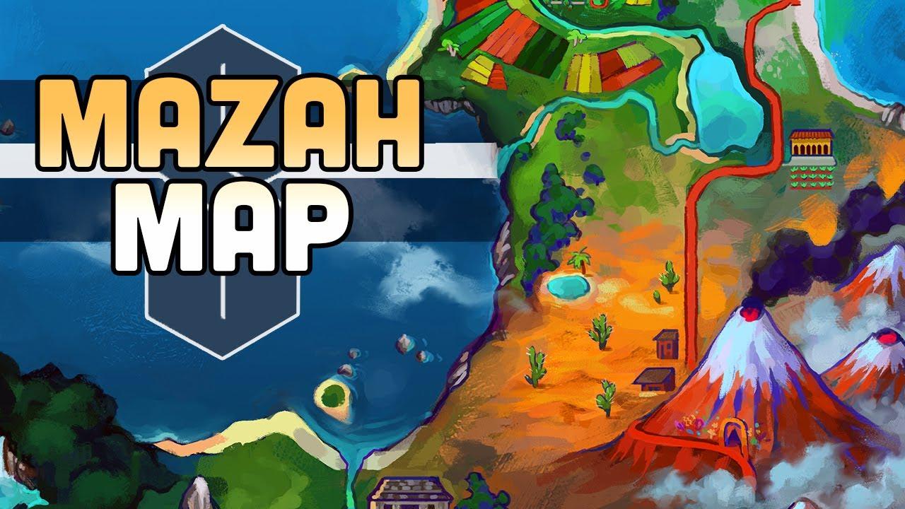Designing a REGIONAL MAP for the Mazah Region!