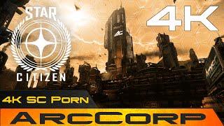 Star Citizen 4K Social/Planetside Modul Porn: ArcCorp | OST WEEZEN | 60fps