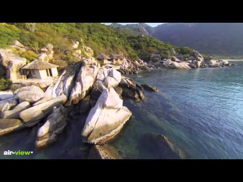 Six Senses Ninh Van Bay by Air View