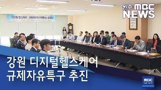 2019. 5. 15 [원주MBC] 강원 디지털헬스케어 규제자유특구 추진