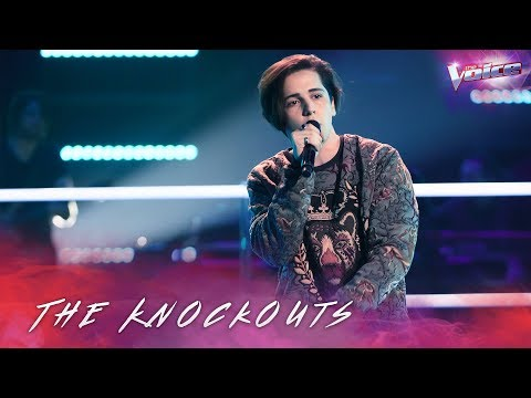 The Knockouts: Aydan Calafiore Sings Side By Side   The Voice Australia 2018