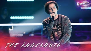 The Knockouts: Aydan Calafiore sings Side By Side | The Voice Australia 2018