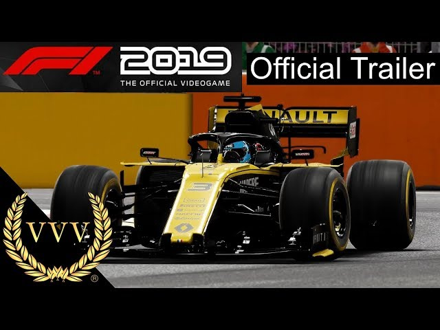 F1 2019 In-Game Footage Trailer