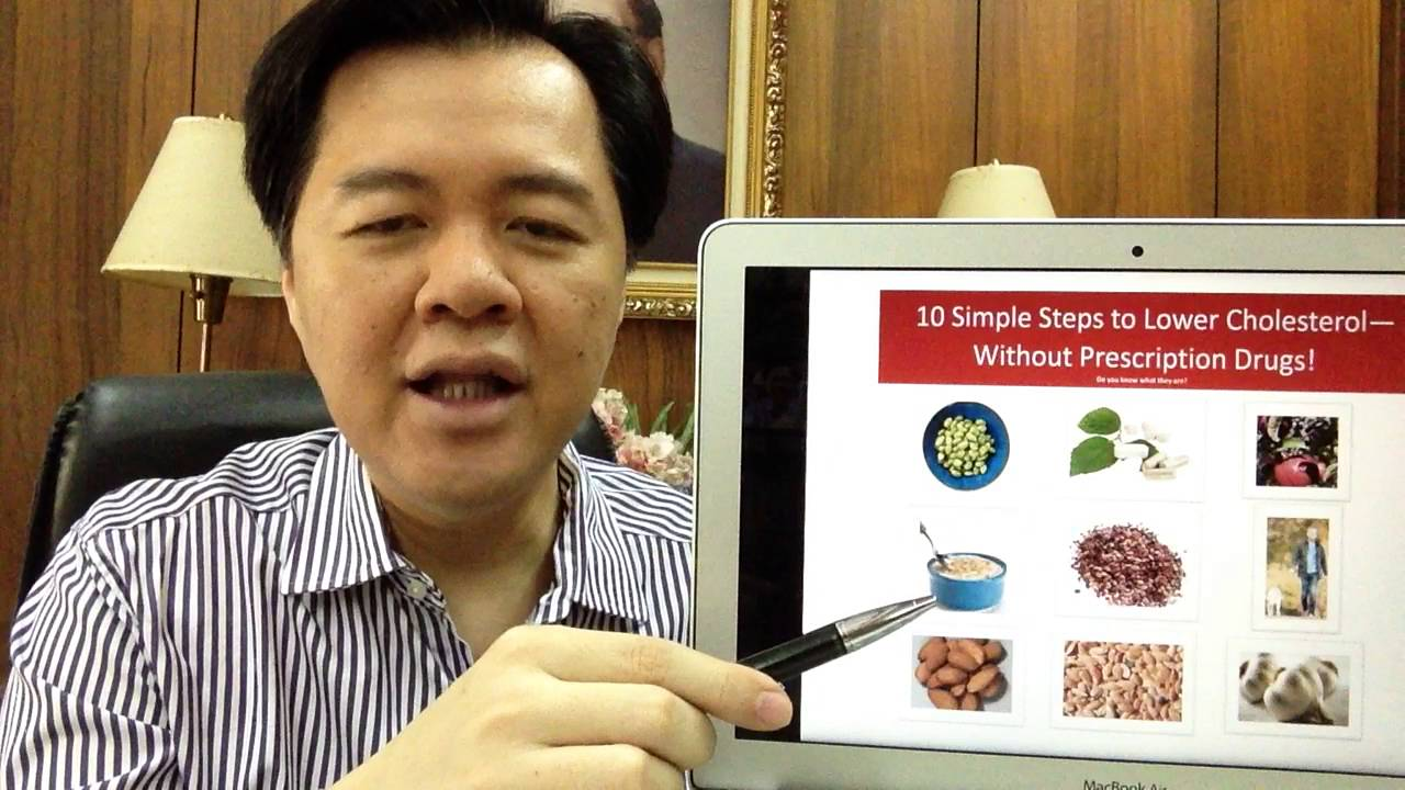 How to treat High Cholesterol by Doc Willie Ong