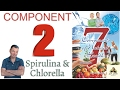 Chlorella & Spirulina: Component 2 - Dr. Bob's 7 Component Health Protocol