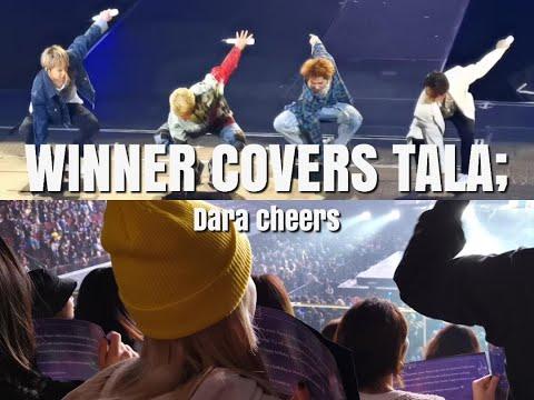 [20200125] WINNER 위너 DANCES TO 'TALA' AND SANDARA PARK APPROVES!!!   Winner Cross Tour In Manila