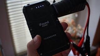Ifound FZDY02 пусковое устройство для автомобиля / Jump Starter ► Посылка из Китая / JD