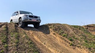 EP4 - Primul test de Off-Road + BARA CUSTOM | Toyota LandCruiser 100