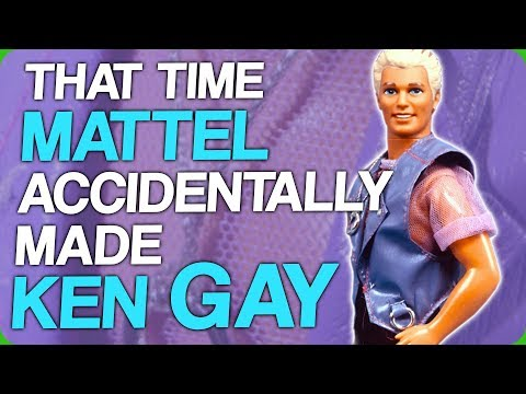 That Time Mattel Accidentally Made Ken Gay (My Big Spiky Dinosaur)