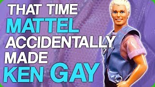 That Time Mattel Accidentally Made Ken Gay (My Big Spiky Dinosaur)