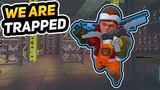 WE ESCAPED AN ABANDONED NUCLEAR BUNKER     Scrap Mechanic Gameplay