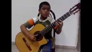 My heart will go on  on - Classical Guitar by Julio Silpitucla