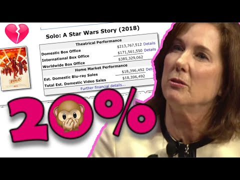 DISNEY STAR WARS FINANCIAL FAILURE AND LIES!  SOLO BLU-RAY SALES DISASTER!!!