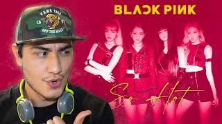 BLACKPINK - SO HOT (THEBLACKLABEL Remix) Official Track | VIDEO REACCIÓN | MUSIC PRODUCER REACTS!