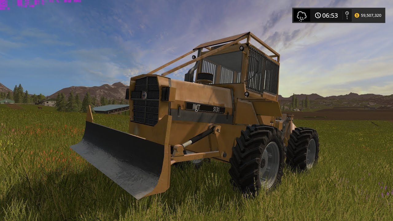 Farming Simulator 17 IMT 5131 Skidder with Winch Mod Review