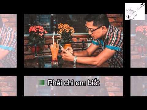 [Khuya Cafe - Karaoke] Phải chi em biết (Tone nam)