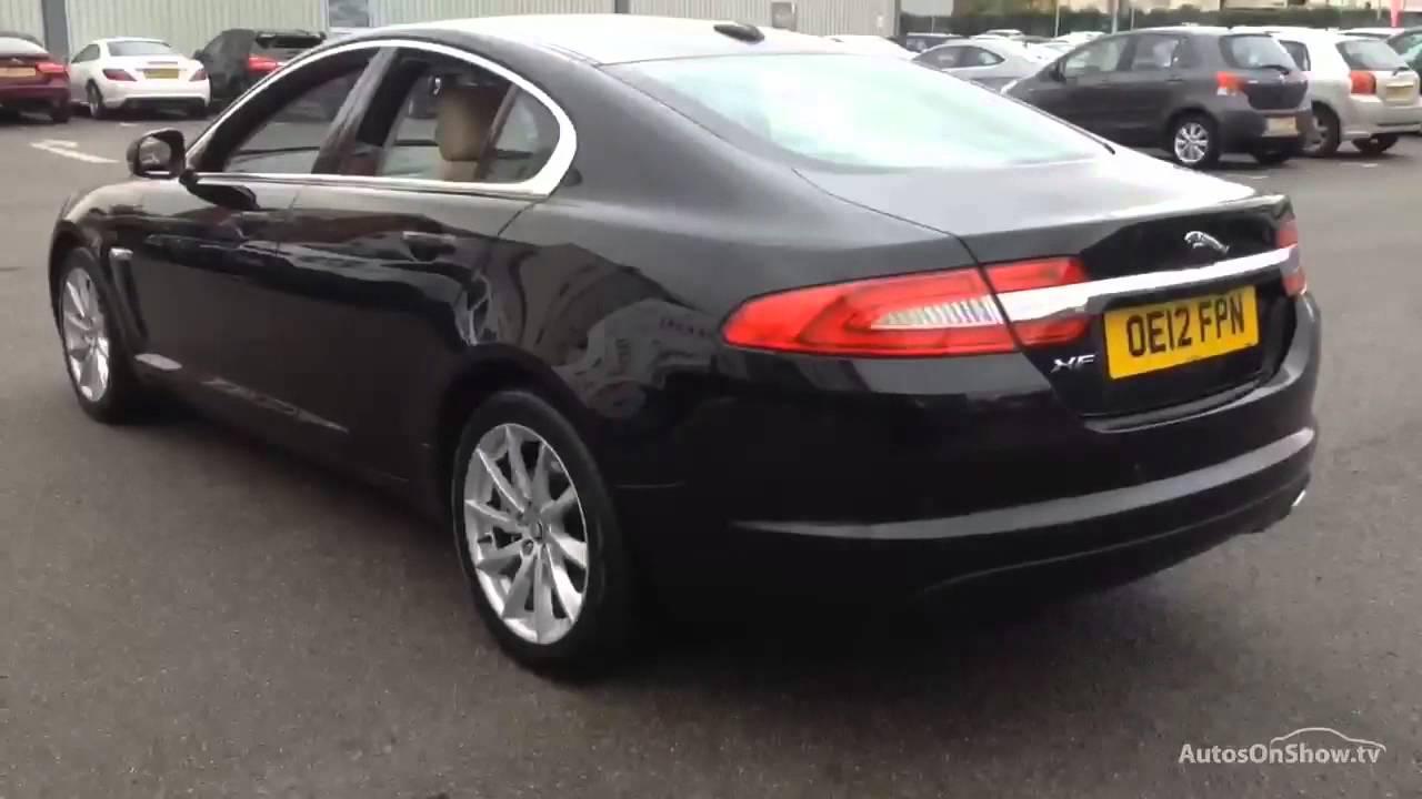 Jaguar Xf D Premium Luxury Black 2012 Youtube