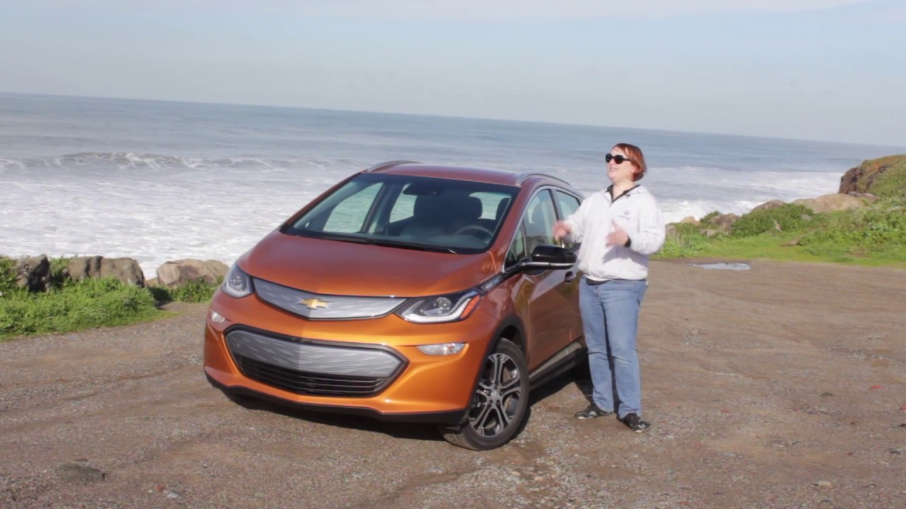 2017 Chevrolet Bolt Ev First Drive Review