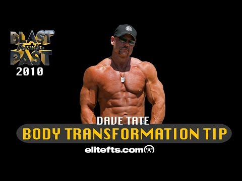 Dave Tate Body Transformation Tip From 2010 | Elitefts.com