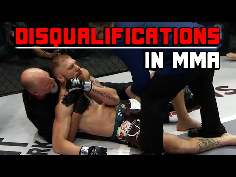 Thumbnail: Disqualifications In MMA
