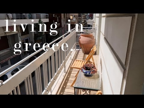 My Greece Apartment Tour! Buhay sa ATHENS | VLOG