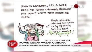 Jakarta, tvonenews.com - sebuah komik yang dibuat oleh warga singapura beredar di media sosial. berisikan cara pencegahan wabah virus corona terse...