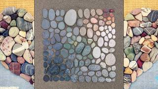 HOME DECOR WITH ROCK, STONE AND PEBBLE CRAFTS