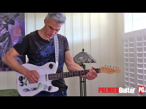 First look - Fender Jimmy Page Telecaster