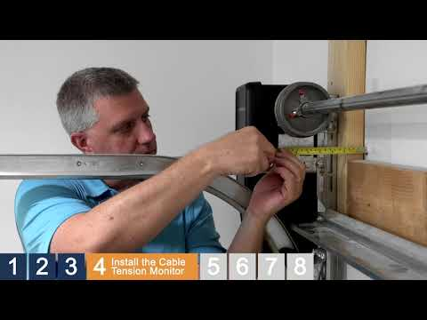 how-to-install-a-chamberlain-wall-mount-garage-door-opener,-model-rjo20