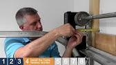 Liftmaster 8500 Jackshaft Complete Install - YouTube on