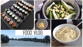 Fruchteis, Gewalt  als Entertainment, veganes Sushi