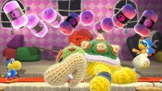 Yoshi's Woolly World - All Bosses (No Damage)
