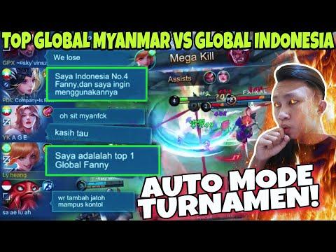 TOP GLOBAL FANNY KETEMU GLOBAL MYANMAR?, FANNY KU WR ANCUR! di REMEHKAN? KITA KASIH DIA TAU BOY!