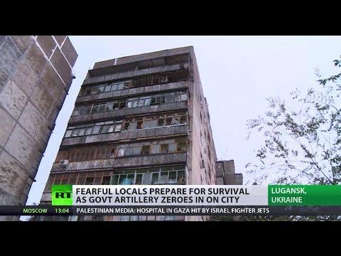Survival Struggle: Life in Lugansk under shelling