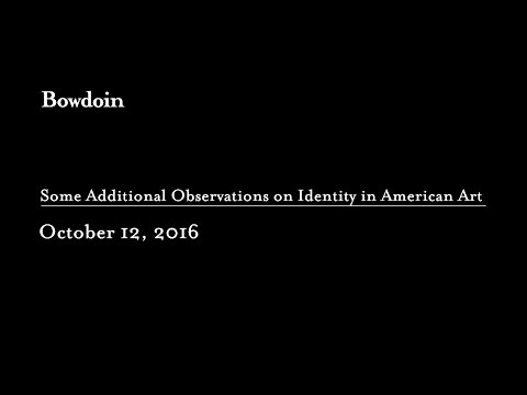 Richard Saunders '70: Additional Observations on Identity in American Art