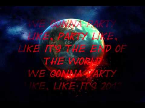 Jay Sean - 2012 (It Ain't The End) ft Nicki Minaj (High Pitched) (Lyrics)