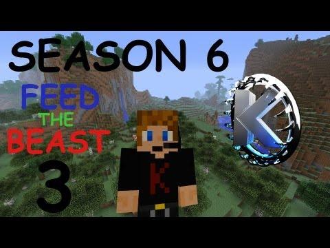 Minecraft FTB Let's Play (Season 6) - Part 3: Miners Backpack