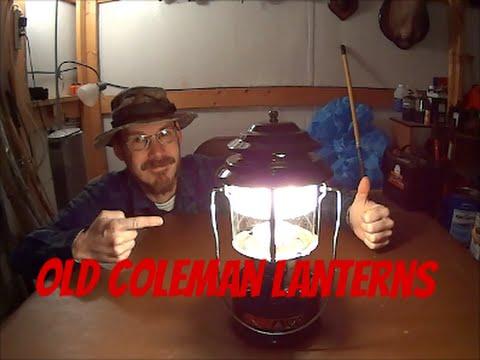 Old lanterns of value coleman Antique Lantern