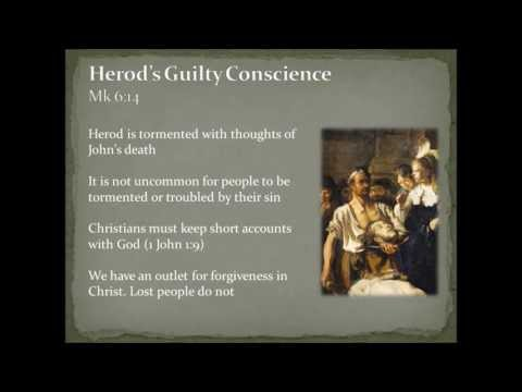 Herod and John the Baptist (Mark 6:14-29)