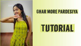 Ghar More Pardesiya | Tutorial | Richa Tiwari Choreography | Beats and Taal