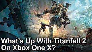 [4K] Titanfall 2 Xbox One X vs PS4 Pro/PC - Something