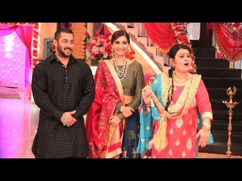 Salman Khan & Sonam Kapoor Promotes Prem Ratan Dhan Payo On Kum Kum Bhagya