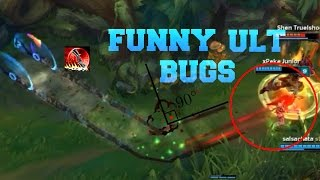 ULT Bug Montage | Funny Ultimate Bugs 2016 - League Of Legends